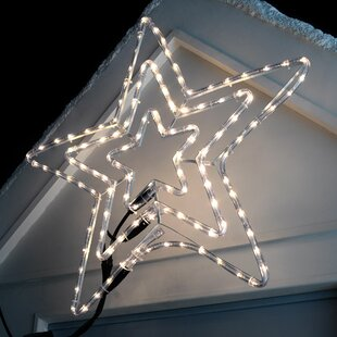 Star Silhouette LED Lighted Display By The Seasonal Aisle