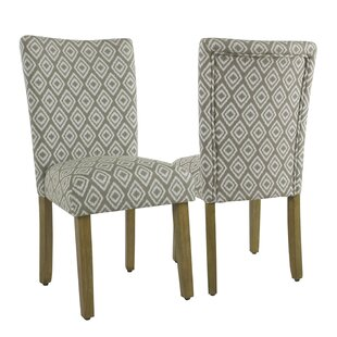 Longwood Upholstered Dining Chair (Set of 2) Charlton Home