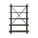 Vasso Etagere Bookcase by Gracie Oaks