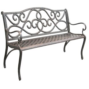Mcgarity Cast Aluminum Park Bench