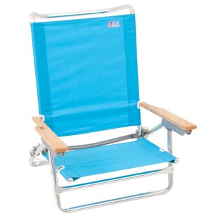 Rio Brands Classic Reclining/Folding Beach Chair (Set of 20)