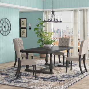 Gertrudes 5 Piece Dining Set One Allium Way