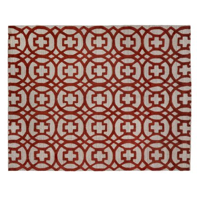 Windsor Hand Woven Wool Redgray Area Rug Exquisite Rugs Rug Size Rectangle 8 X 10