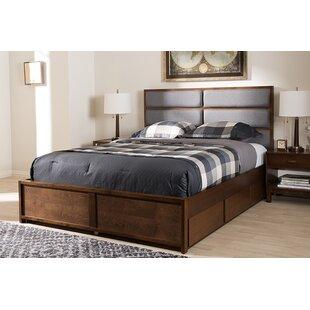 Pine Lake Upholstered Storage Platform Bed by Red Barrel Studio