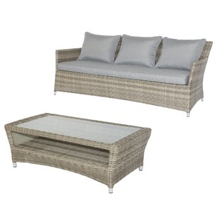 Malge 3 Seater Rattan Sofa Set Image