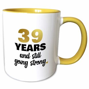 39 Year Anniversary Still Going Strong 39th Wedding Gift Coffee Mug