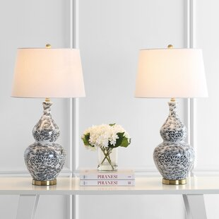 Lincolnwood 32'' Table Lamp (Set of 2) by World Menagerie