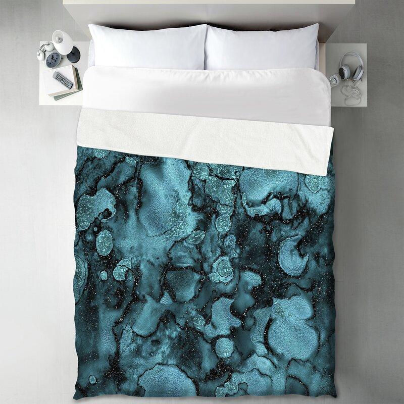 East Urban Home Marble Agate Blanket Wayfair