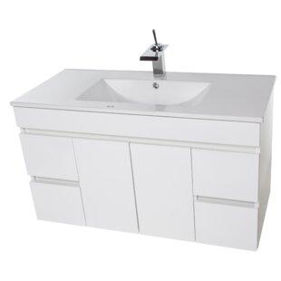 Lofland 41 Wall-Mounted Single Bathroom Vanity Set ByIvy Bronx