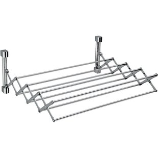 AGM Home Store Extendable Wall Mounted Towel Rack