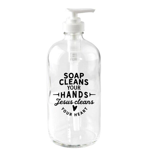 Glass Hand Soap Dispenser Wayfair