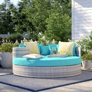 Falmouth Patio Daybed with Cushions by Sol 72 Outdoor