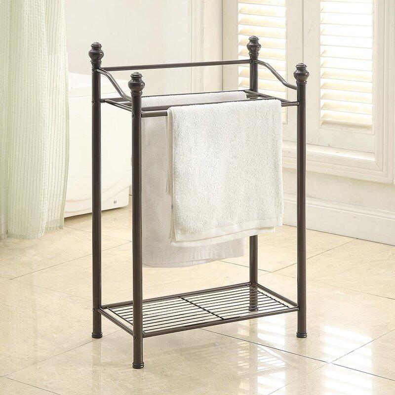 Belgium Free Standing Towel Rack