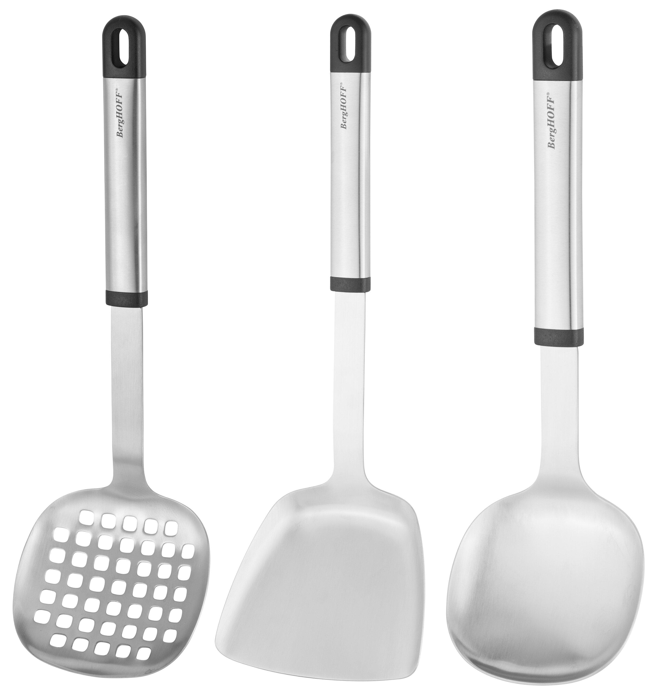 3 Piece Essentials Asian Prep Kitchen Utensil Set