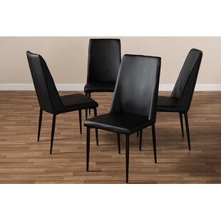 Affordable Doreen Upholstered Dining Chair (Set of 4) by Brayden Studio Reviews (2019) & Buyer's Guide