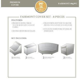 Rosecliff Heights 8 Piece Beige Cover Set
