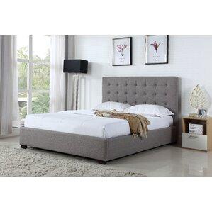 Genova Queen Upholstered Platform Bed by BOGA Furniture