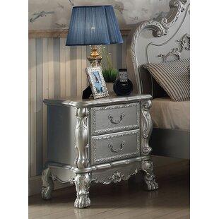 Villenova 2 Drawer Nightstand by Astoria Grand