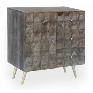 Maia 3 Drawer and 1 Door Accent Chest by Everly Quinn