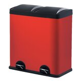 Red Kitchen Trash Cans You\'ll Love in 2019   Wayfair