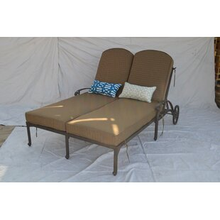 Nola Double Chaise Lounge by Darby Home Co