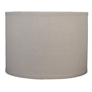 Classic 14″ Linen Drum Lamp Shade