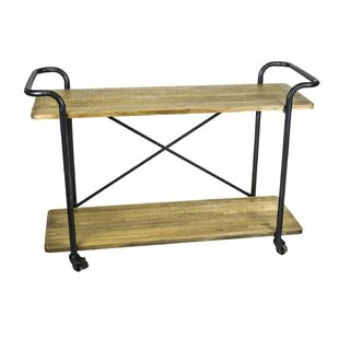 Gracie Oaks Boonville 2 Tiered Bar Cart