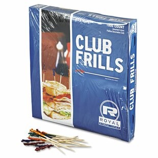Club Cellophane Frill Pick by Royal Paper Today Sale Only