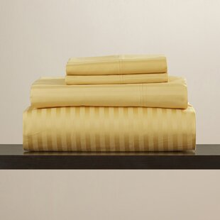 Comparison Engman 650 Thread Count 100% Cotton Sheet Set By The Twillery Co.