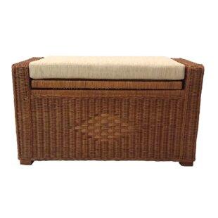 Rattan Wicker Home Furniture Adam Rattan Wicker Storage Bench