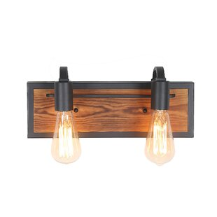 Williston Forge Cornelius 2-Light Vanity Light