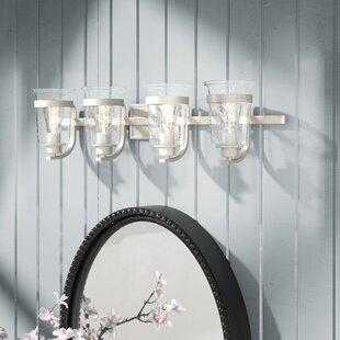 Laurel Foundry Modern Farmhouse Pisek 4-Light Vanity Light