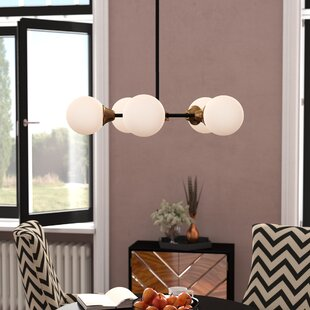 Willa Arlo Interiors Bautista 5-Light Sputnik Chandelier