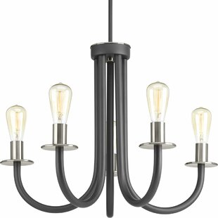 Williston Forge Pattie 5-Light Chandelier