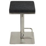Tudor City Swivel Adjustable Height Bar Stool by Mercer41