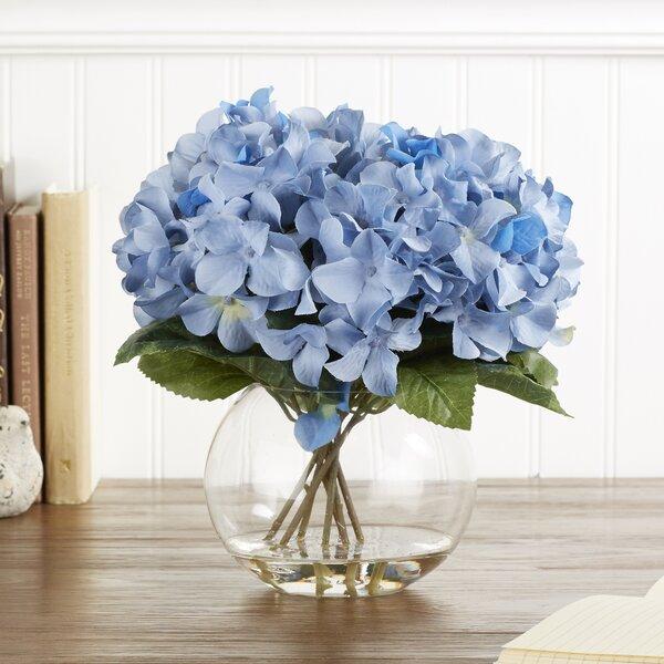 Faux Blue Hydrangea Wayfair