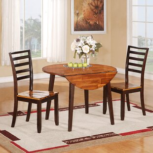 3 Piece Drop Leaf Dining Set by Wildon Home® Design