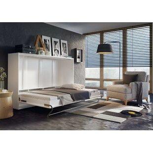 Woodham Full/Double Murphy Bed with Mattress by Brayden Studio