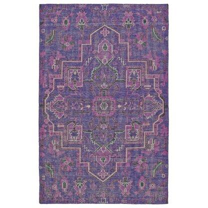 Luxury Purple Wool Rugs Perigold