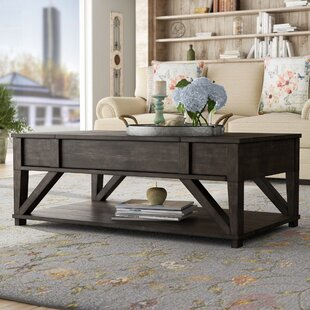 Clark Fork Lift Top Coffee Table August Grove