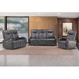 Hiller Reclining 3 Piece Living Room Set (Set of 3) ByWinston Porter