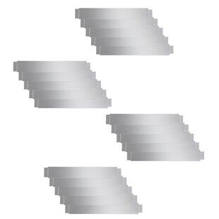 1m X 0.2m Edging (Set Of 20) By Symple Stuff