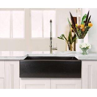Plymouth 33 L x 20 W Farmhouse Kitchen Sink