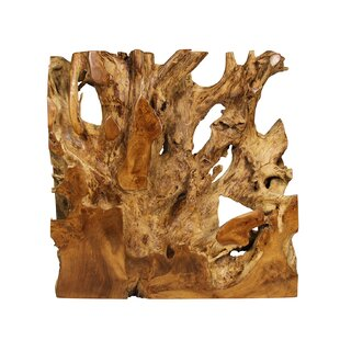 Teak Root Console Table
