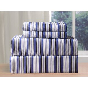 Cedric 200 Thread Count Sheet Set by Alcott Hill Best Choices