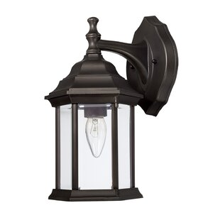 Order Eubanks 1-Light Outdoor Wall Lantern By Charlton Home