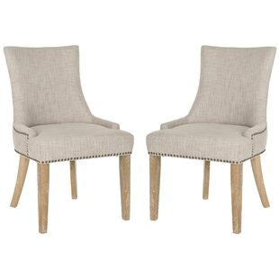 Abby Upholstered Side Chair Set of 2 by Ophelia amp Co