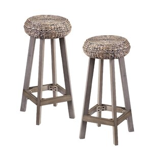 Shiena 30 Bar Stool (Set of 2) Bayou Breeze