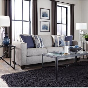 Berens Slate Sofa by Charlton Home