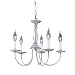August Grove Gomes 5-Light Chandelier